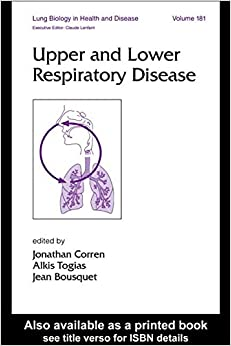 Upper and Lower Respiratory Disease (Lung Biology in