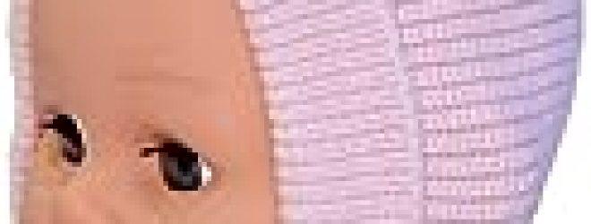 Baby Girl Winter Bonnet, Size: 0-6 M, Color: Pink