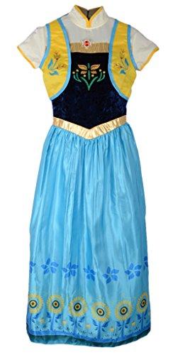 frozen fever anna fancy dress costume