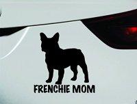 Frenchie Mom Dog Symbol Decal Funny Car Truck Sticker ...