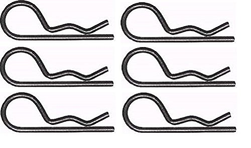 Set of 6 Replacement Retainer Spring (Clip) for Part