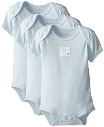 Burts-Bees-Baby-Organic-Set-of-3-Bee-Essentials-Short-Sleeve-Bodysuits
