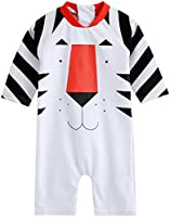 Vaenait Baby 0-24M Baby Swimsuit Infant Boys Rashguard Swimwear Water Tiger Baby