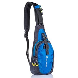 Sling Bag Chest Shoulder Unbalance Gym Fanny Backpack Sack Satchel Outdoor Bike