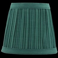Lamp Shades Hunter Green Fabric Lamp Shade 4 1/16 H Clip