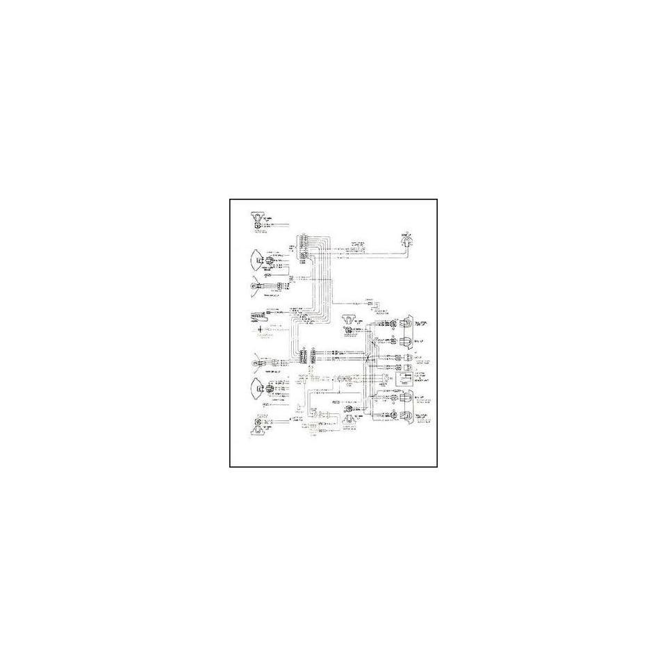 1965 tempest lemans gto wiring diagram manual reprint
