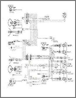 1968 Pontiac Tempest, LeMans, & GTO Wiring Diagram Manual