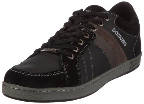 Dockers 292300-338310, Herren Sneaker, Schwarz (schwarz 310), EU 43