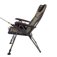 Folding Chair Fishing Pole Holder Gaming For Kids New Earth Products Ultimate Outdoor Adjustable With Legs | Ebay