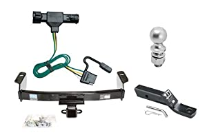 Amazon.com: Class 3 Trailer Hitch Tow Kit w/ 1-7/8