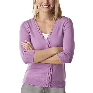 Product Image Merona® Women's Artist V-Neck Cardigan Sweater - Grape Lollipop