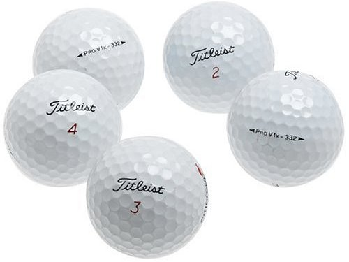 Titleist Pro V1 X AAA Recycled Golf Balls (36 Pack