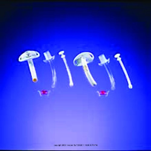 Disposable Cannula Cuffless Tracheostomy Tube, Disp Can Cfls Sz 4, (1 EACH, 1 EACH)