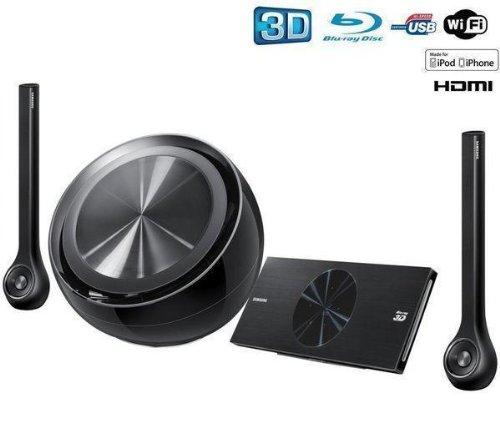 SAMSUNG Heimkinosystem mit 3D Blu-ray-Player HT-D7200B + 2 JAHRE GARANTIE