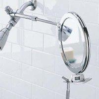 Fogless Shower Mirror Dual Sided Telescoping Shaving ...