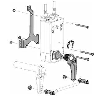 Belimo ZG-AFB Crank Arm Adaptor Kits: Electronic