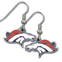 Denver Broncos Earrings, Broncos Earrings, Bronco Earrings ...