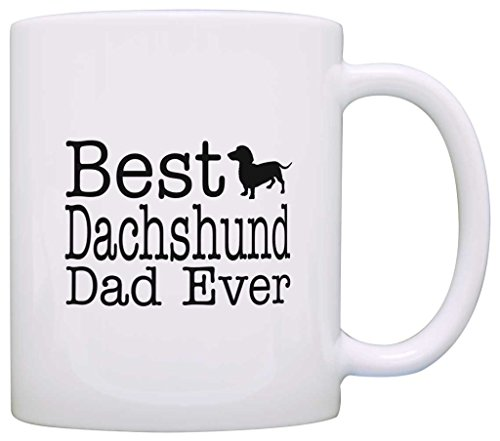 Best Dachshund dad Coffee Cup