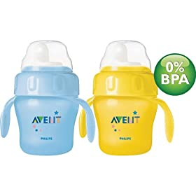 Avent 7oz Magic Cup Trainer Twin Pack - With Handles