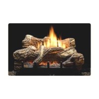 "Amazon.com - 18"" Propane LP Manual Gas Log Fireplace ..."