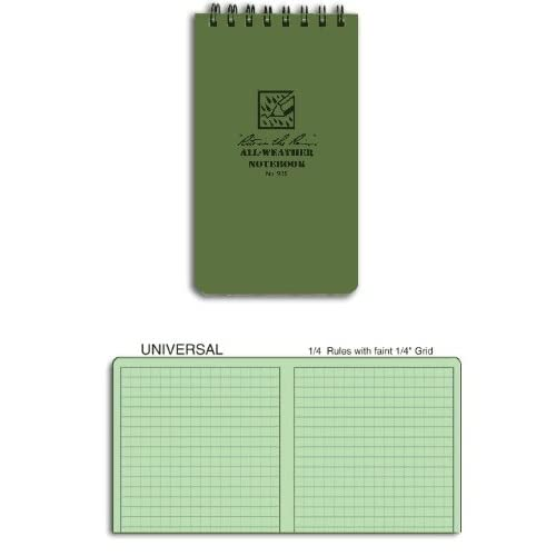 Rite in the Rain Tactical Pocket Notebook