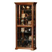 Amazon.com - Oak Ridge Curio Cabinet Finish: Unfinished ...