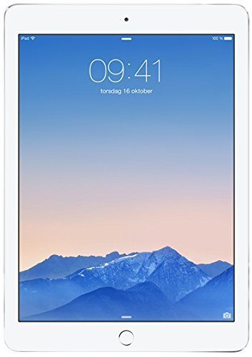 Apple MGLW2LL/A iPad Air 2 9.7-Inch Retina Display, 16GB, Wi-Fi (Silver)