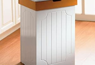 Decorative Wooden Trash Bins For Kitchen