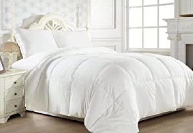 Fluffy White Bedding
