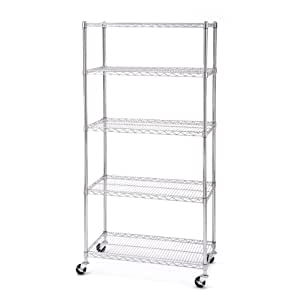 Amazon.com: Seville Classics UltraZinc 5-Shelf NSF Wire