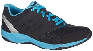 Vionic Women's Black with Orthaheel Venture 8 B(M) US-best shoes for plantar fasciitis