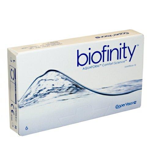 Biofinity, Radius: 8.60, Durchmesser: 14.00, Dioptrien: -1.50