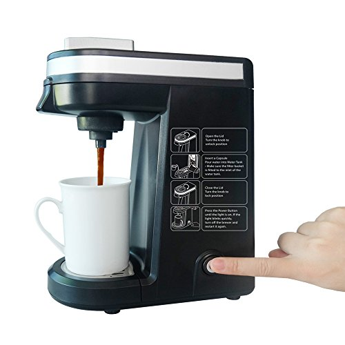 Single Serve Coffee Brewer Chulux Compact K Cup Coffee