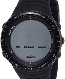 Suunto Core Regular Black - Reloj deportivo (Dot-matrix, 49.1 x 49.1 x 14.5 mm, 64 g, Negro, Incorporado, -20 - 60 °C)