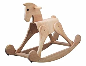 plan toys neo classic rocking horse