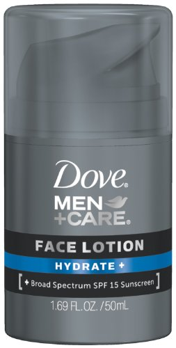 Dove Men+Care Hydrate + Face Lotion, 1.69 Oz