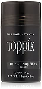 Amazoncom TOPPIK Hair Building Fibers Black 042 oz