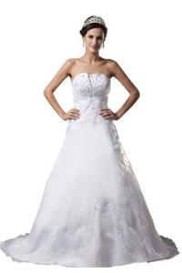 herafa Wedding Dress Elegant NO.w35154: Amazon Fashion