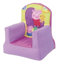 Peppa Pig Inflatable Chair for Kids - Multi-Colured | eBay