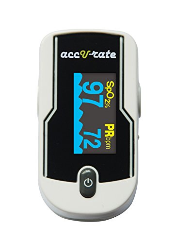 Acc U Rate® 430/DL Premium White Pulse Oximeter