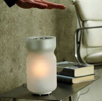 Airswitch TC Interactive Lamp by Mathmos Blue