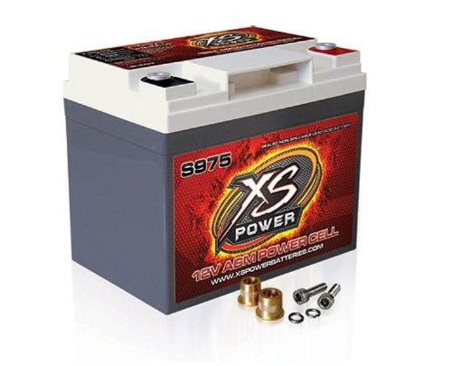 Xs power s975 s series 12v 2 100 amp agm automotive for California 2100 amp