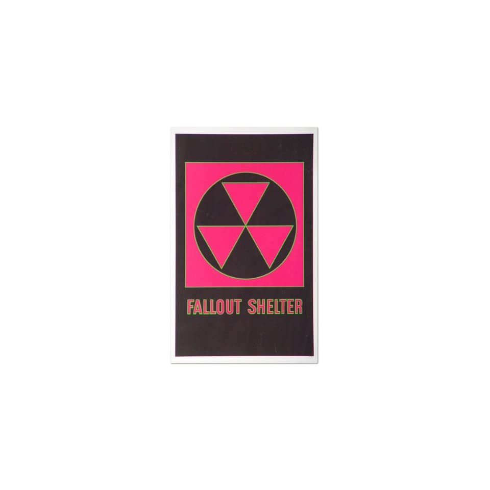 medium resolution of fallout shelter reproduction poster