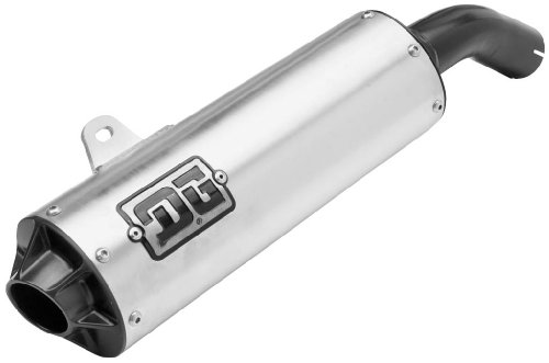 dg performance 03 6150 o series slip on exhaust with spark arrestor ball burnished review innocentsdrepin