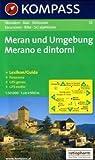 Meran und Umgebung/Merano e dintorni: Wander-, Bike- und Skitourenkarte. GPS-genau. 1:50.000