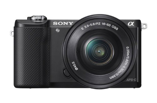 Sony Alpha a5000 Mirrorless Camera with 16-50mm OSS Lens