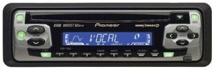 Pioneer Car CD Player DEH1500 MOSFET 50Wx4 Super Tuner 3