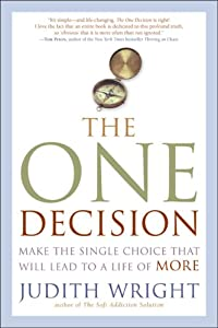 "Cover of ""The One Decision: Make the Sing..."