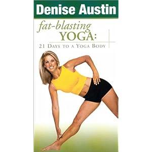 Denise Austin - Fat-Blasting Yoga: 21 Days to a Yoga Body [VHS]