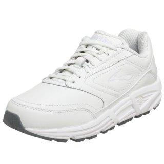 Brooks Women's Addiction Walker Walking Shoe,White,8.5 AA